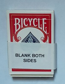 BICYCLE DECK - BLANK BOTH SIDES