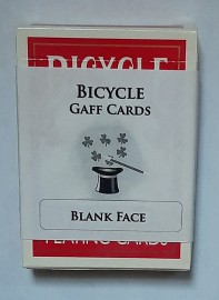 BICYCLE DECK - BLANK FACE / RED