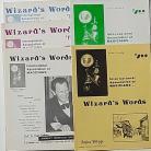 Wizard's Words Magazine / 5 magazines set